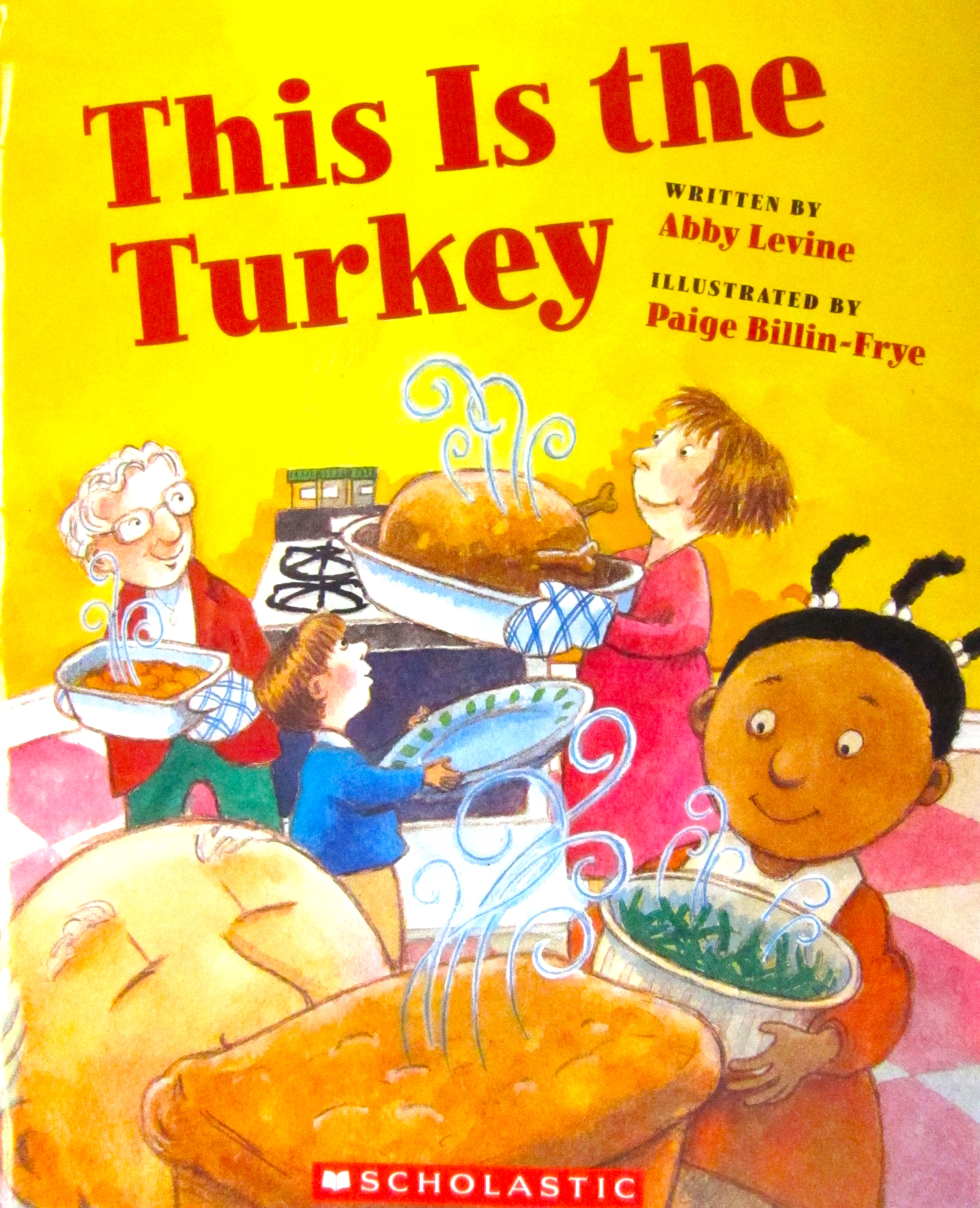 "This book is a ""This is the house that Jack Built-esque"" version of a family's  Thanksgiving dinner ..."