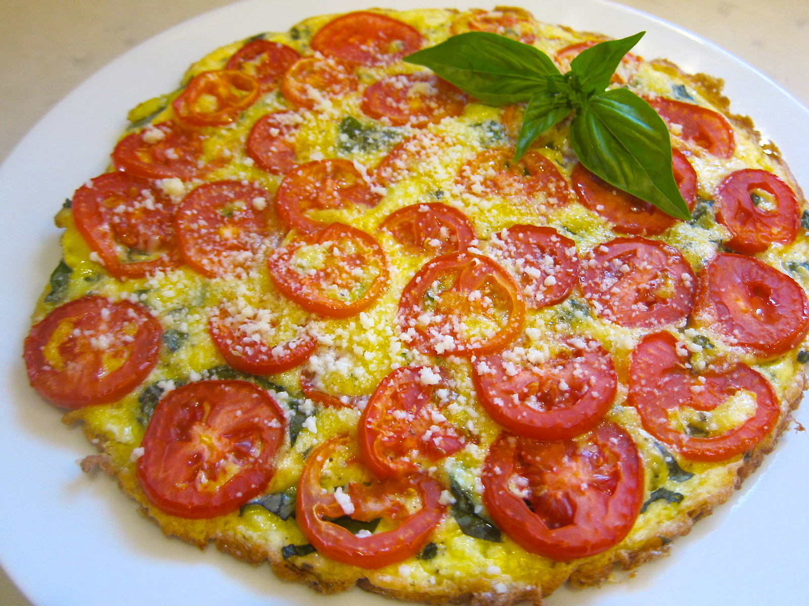 Tomato Frittata Recipe — Dishmaps