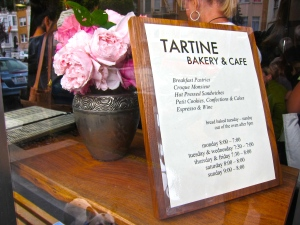 Tartine Bakery --heavenly!