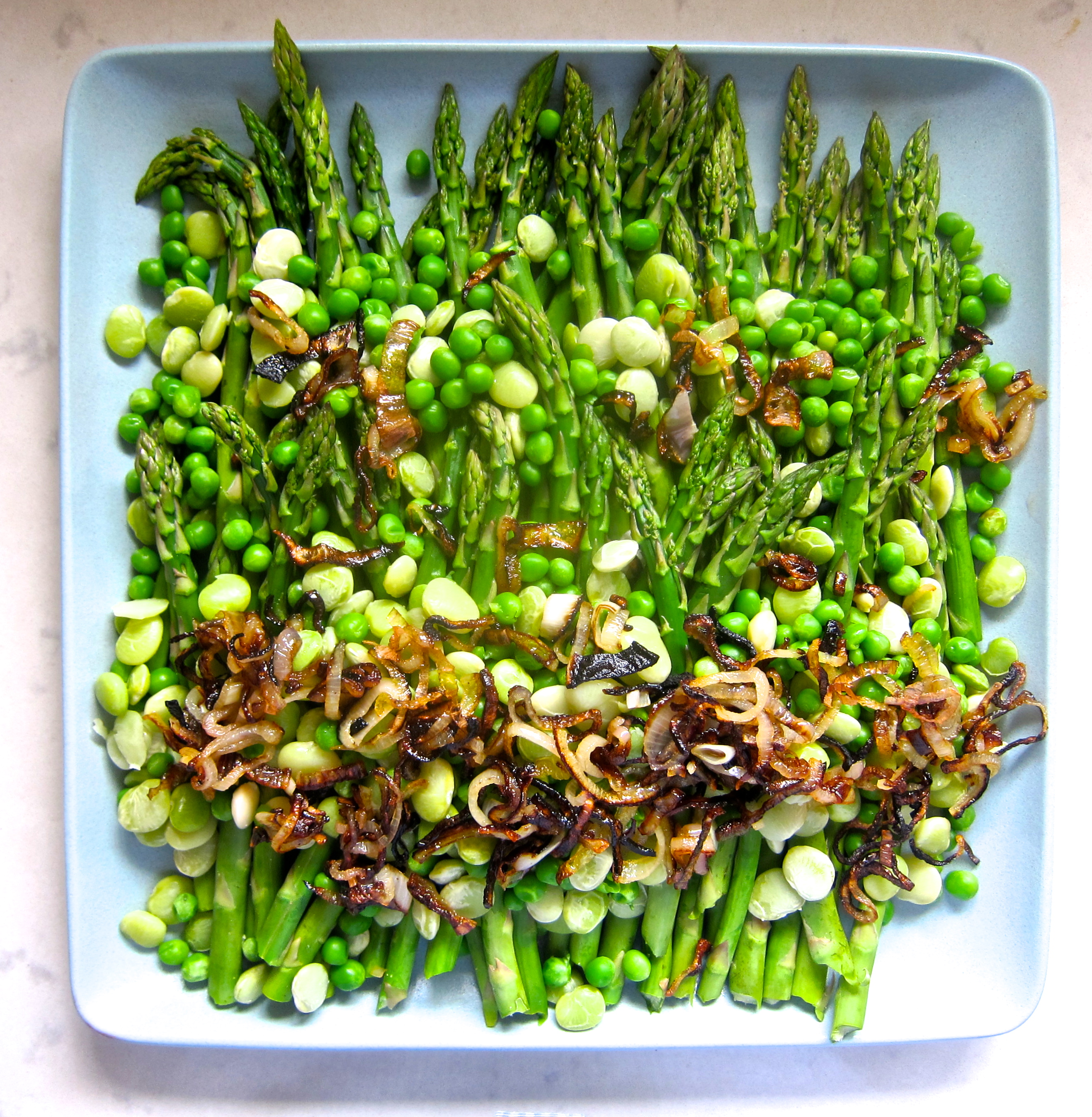 Asparagus Salad | The Thankful Heart