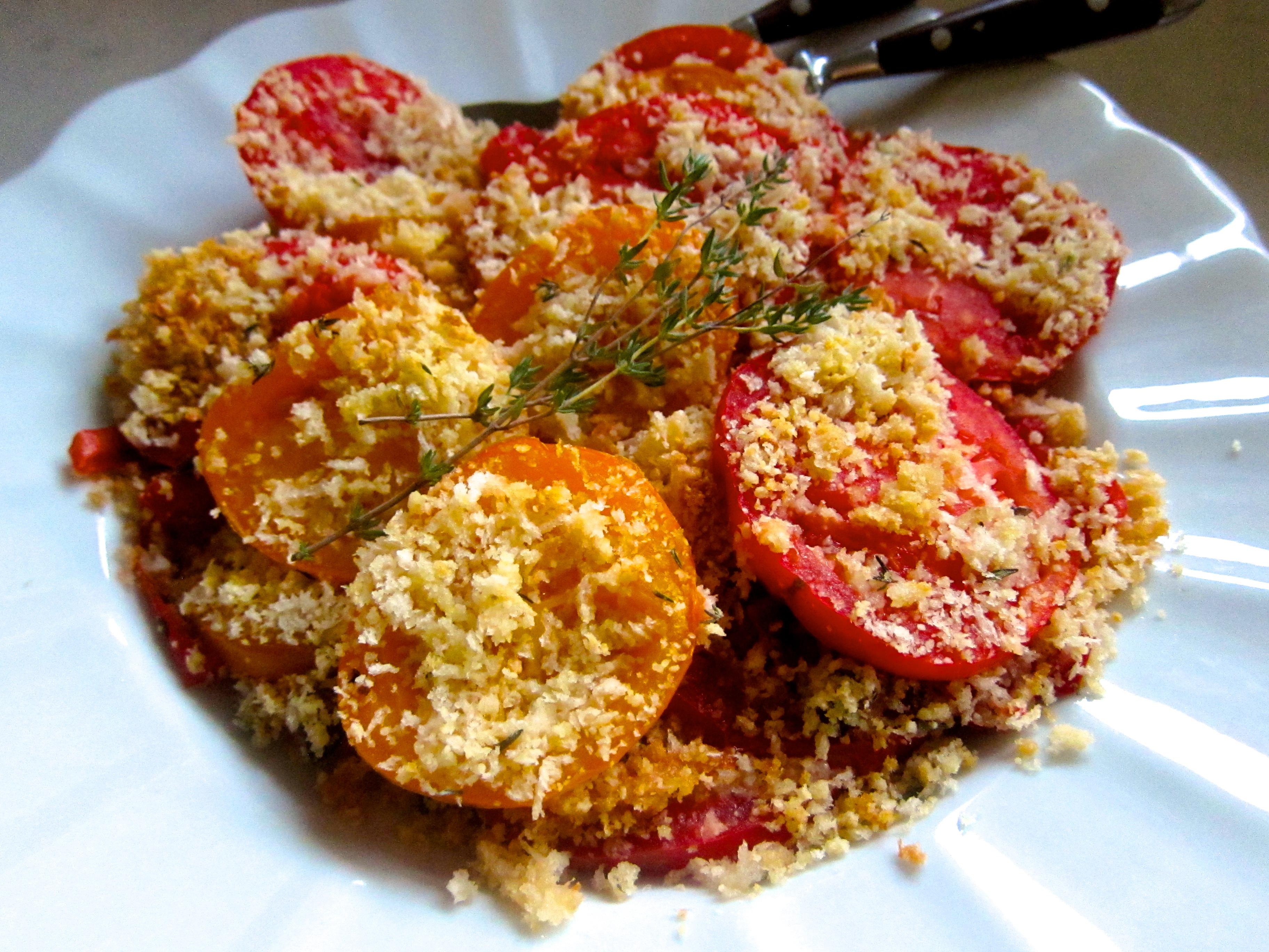 Tomato Gratin | The Thankful Heart