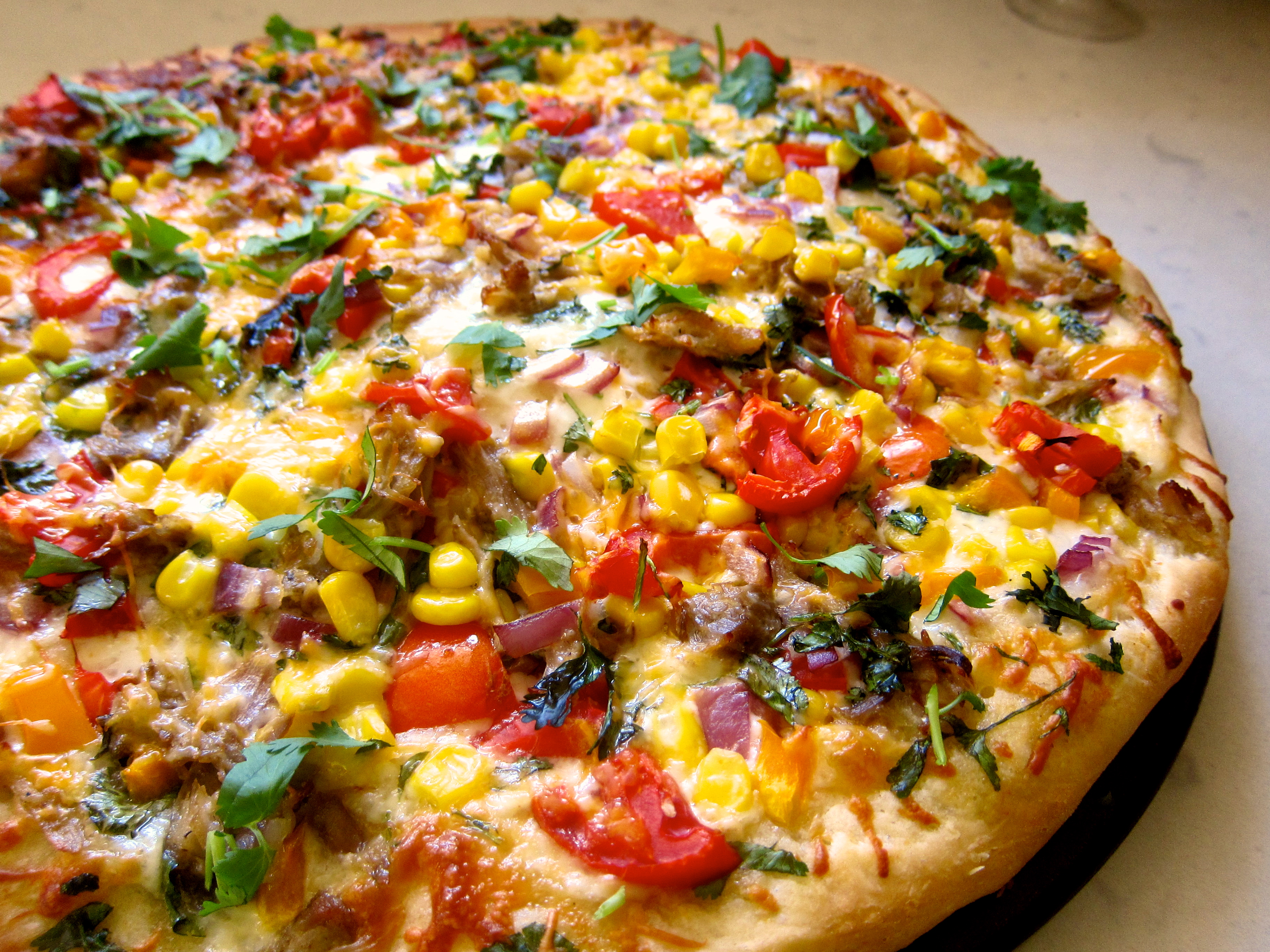 foto Grilled Pizza
