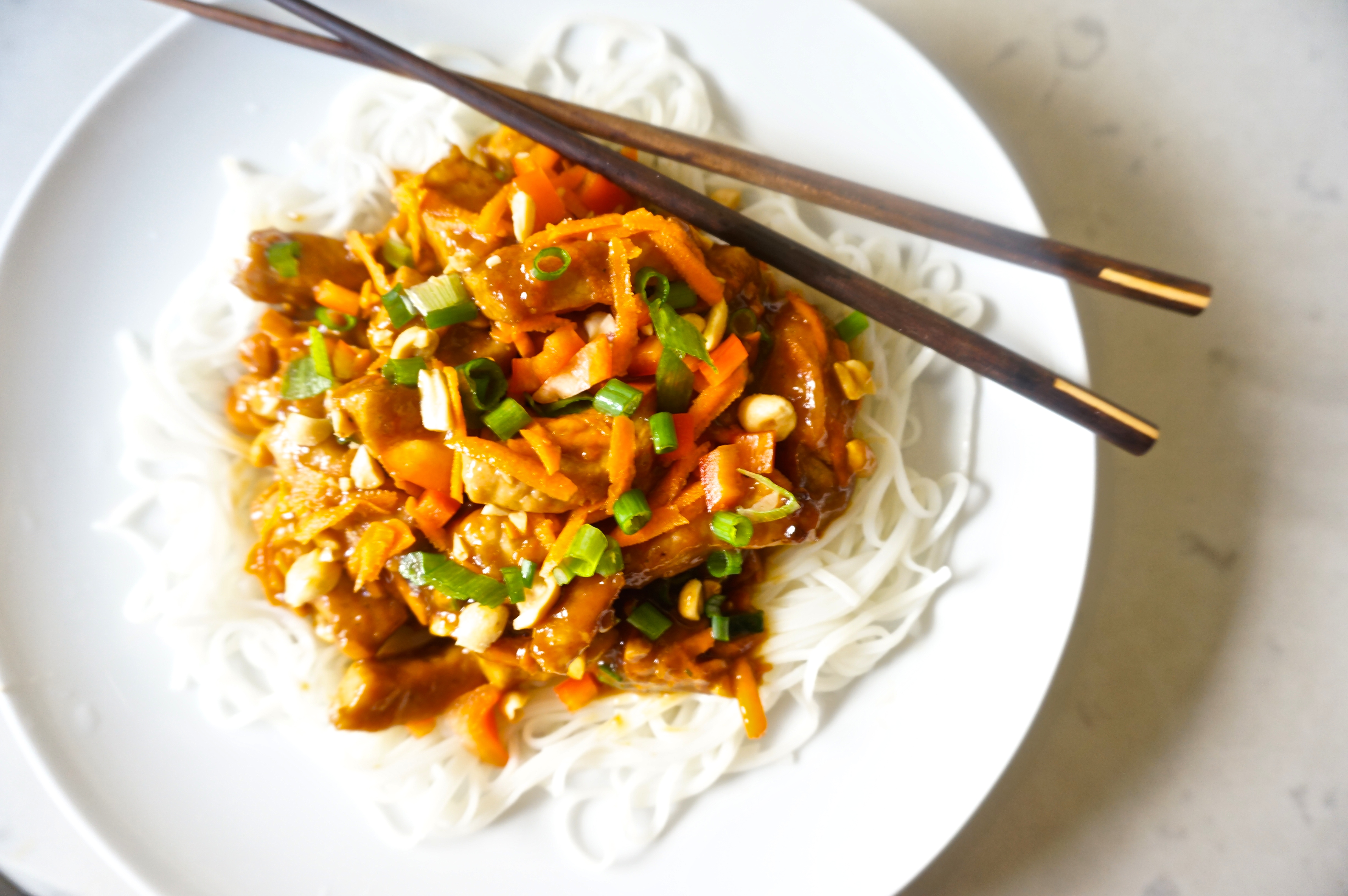 how to cook chinese rice noodles