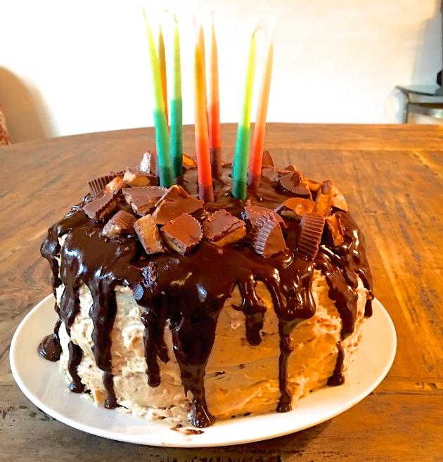 Wondrous Happy Birthday Stu And Chocolate Peanut Butter Cake The Funny Birthday Cards Online Inifofree Goldxyz
